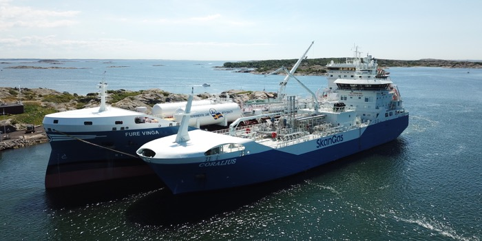Skangas in agreement with Gothia Tanker Alliance to deliver LNG as
